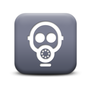 119762-matte-grey-square-icon-signs-gas-mask