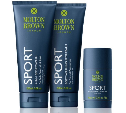 MOLTON BROWN SPORT COLLECTON