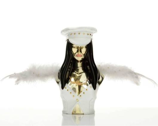 My eyes! My eyes! The new Nicki Minaj fragrance bottle outfit is here!