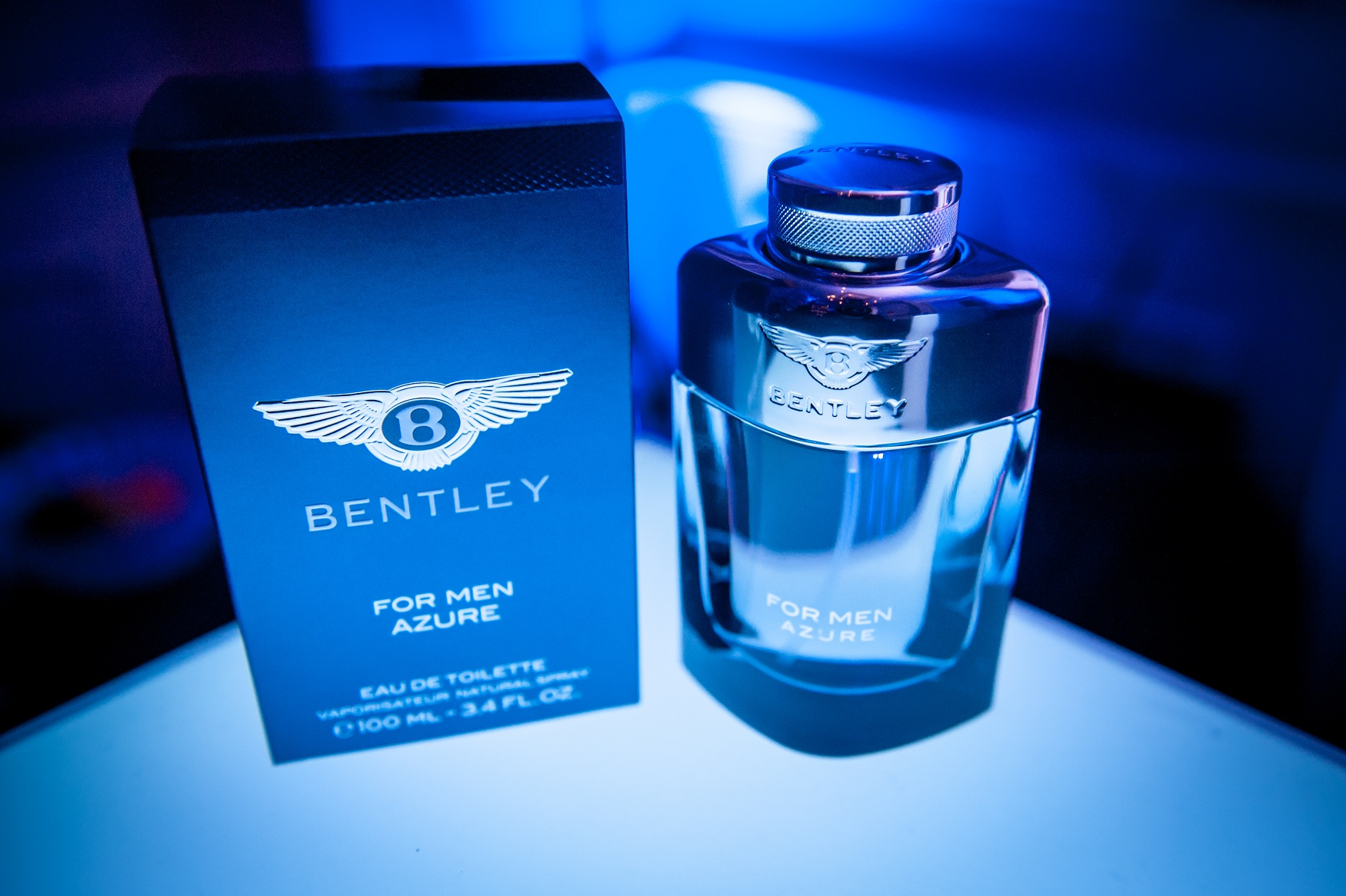 Bentley to launch Bentley For Men Azure – The Grooming Guru