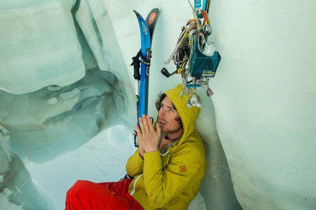 Extreme skier (still life)