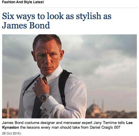 bond style
