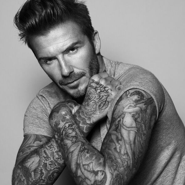 David Beckham official shot
