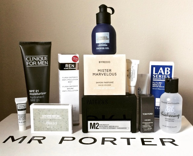 MR PORTER SUMMER GROOMING KIT (1)