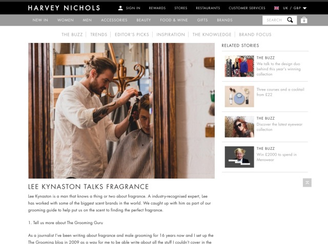 HARVEY NICHOLS KYNASTON
